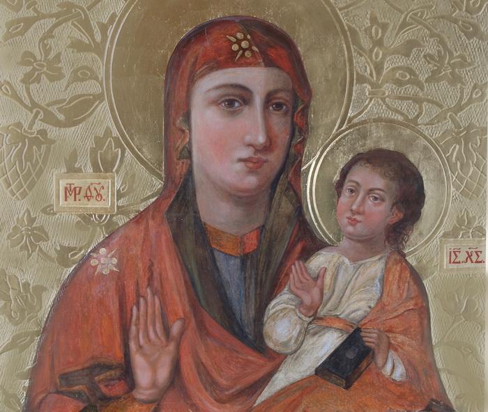 Ікона Богородиці Зарваницької. Копія