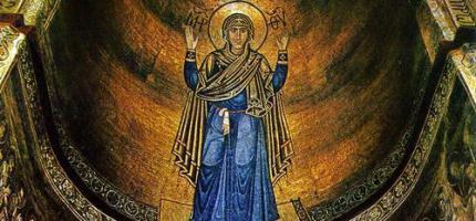Київська Оранта – символ Покрову Богородиці